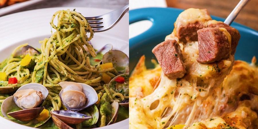 台南新開幕!好市多週邊【YO義思】義大麵餐廳,小清新風格,吃巧又吃飽,聚餐約會的好選擇 !