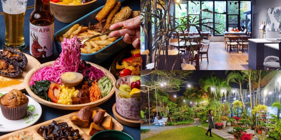 台南絕美森林系玻璃屋景觀咖啡廳【天籟藝文市集】都市裡的約會新秘境!