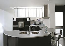 kitchen design template blue rug 时尚厨房设计图片 时尚厨房设计素材 时尚厨房设计模板免费下载 六图网 时尚厨房图片