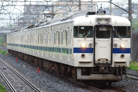 【JR東】415系K910編成回送