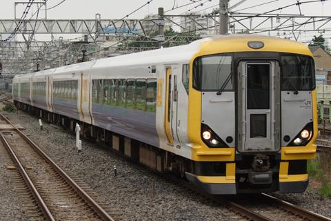 【JR東】E257系NB-05編成OM入場
