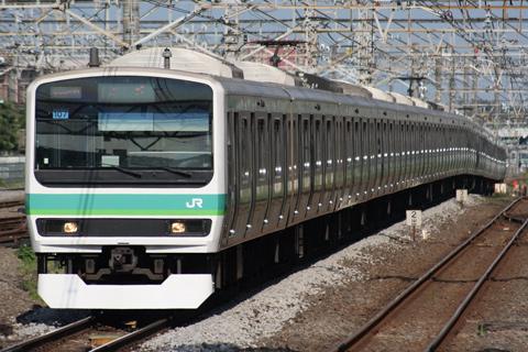 【JR東】E231マト107編成スカート交換