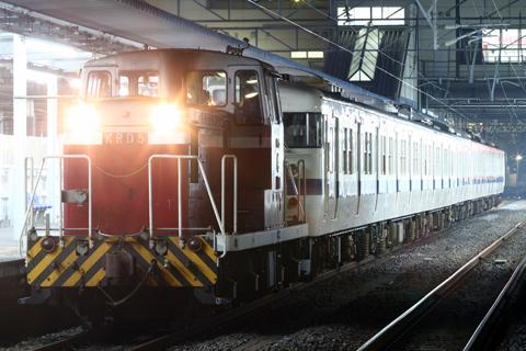 【JR東】415系K910編成廃車配給