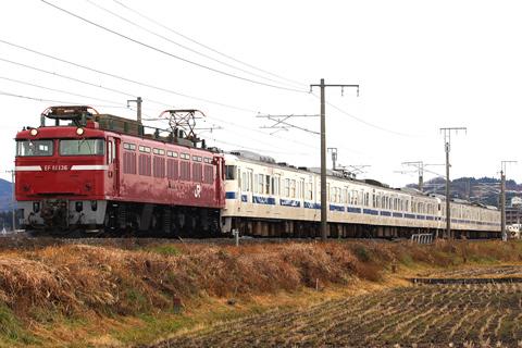 【JR東】415系K517+514編成廃車配給