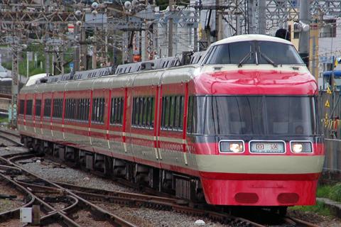 【小田急】7000形7003F(LSE)団臨