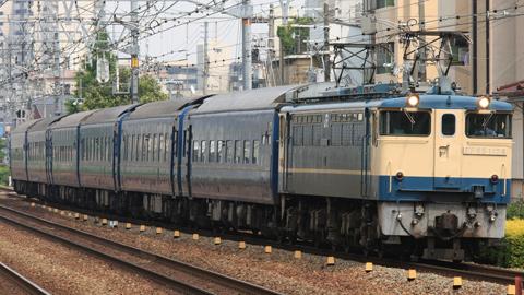 【JR西】14系京都車6両廃車回送