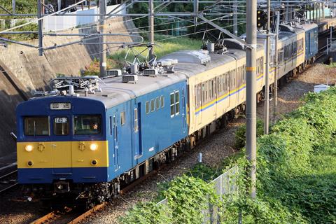 【JR西】113系3800番台N7/8編成廃回