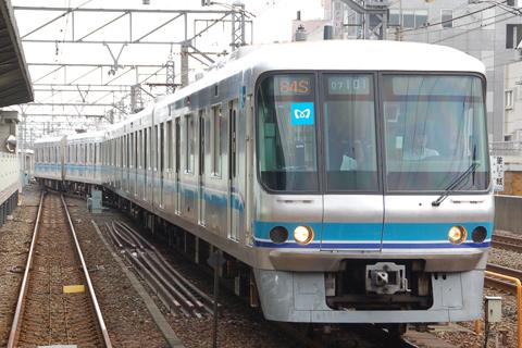 【メトロ】07-101F千代田線試運転