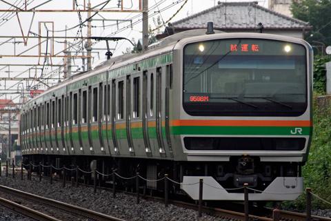【JR東】E231系(近郊型)が試運転実施