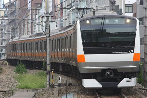 【JR東】E233系T1編成TK入場