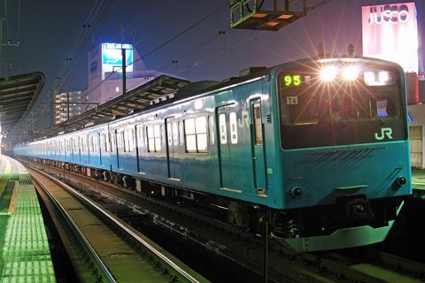 【JR東】201系ケヨ74編成廃車回送