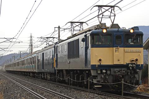 【JR東】209系ウラ28編成長野配給