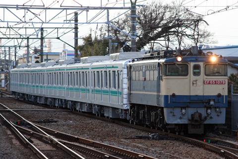 【メトロ】9000系9122F甲種輸送