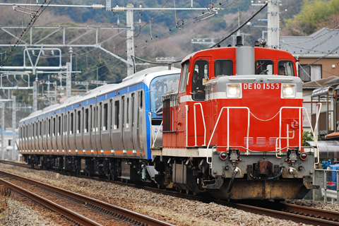 【相鉄】11002F5両新津から甲種