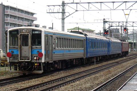 【JR九】旧「なは」用客車廃車配給