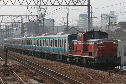 【JR東】E233系ウラ153編成甲種輸送