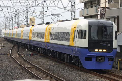 【JR東】255系Be03編成OM出場