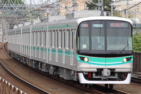 【メトロ】9000系9123F試運転
