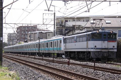 【JR東】E233系ウラ157編成甲種輸送