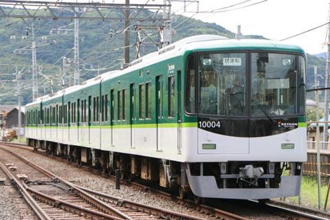 【京阪】10004F新塗装になり試運転