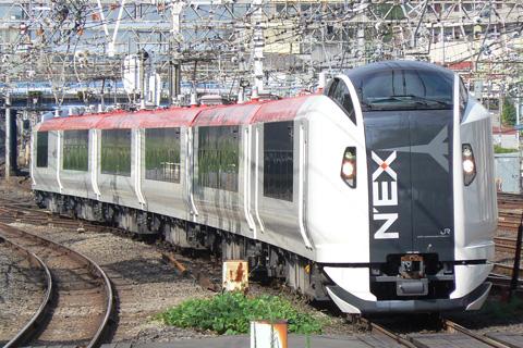 【JR東】E259系分割試運転