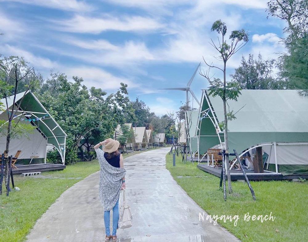 向海那漾 台中海濱豪華露營區,2020/07全台第一個濱海豪華露營開始營運,最浪漫的海濱營地