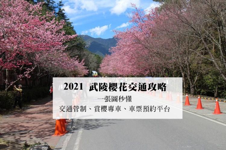 2021武陵櫻花交通管制、賞櫻專車路線(國光客運、豐原客運)、車票預約平台 | 一張圖秒懂
