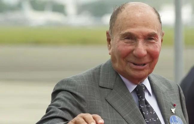 Serge Dassault, senateur et PDG du Groupe Dassault. Portrait/MASTAR_113605/Credit:M.ASTAR/SIPA/1506291142