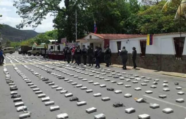 Une tonne de drogue a été retrouvé après le crash d'un avion au Venezuela.