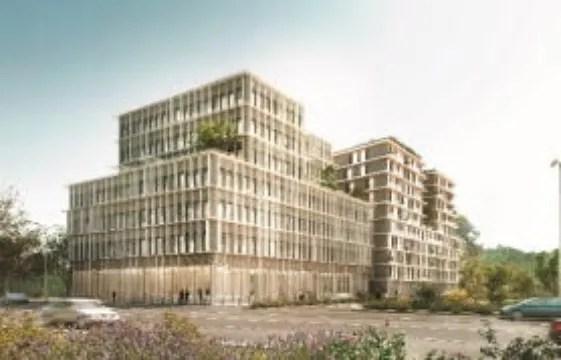 Bordeaux Euratlantique Deux grands immeubles en ossature bois en projet