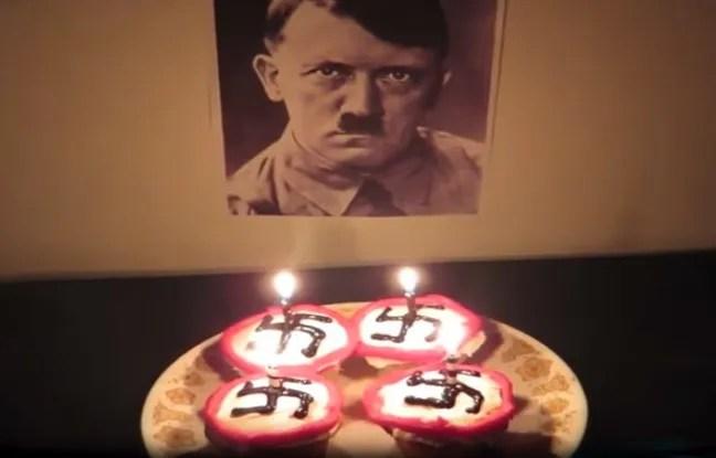 Dans ses vidéos, Eva Lion va jusqu'à préparer des cupcakes pour Hitler.