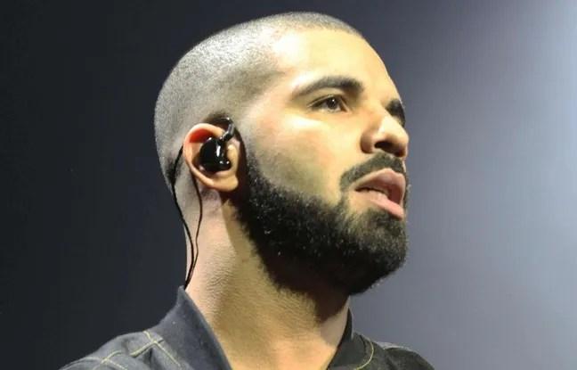 Drake lors d'un concert à Atlanta le 25 août 2016