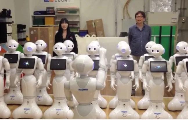 Une chorale de robots interprète Beethoven.