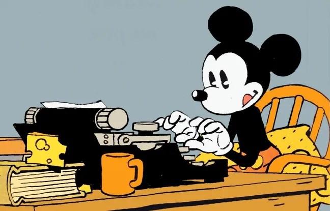 Mickey vu par Cosey.