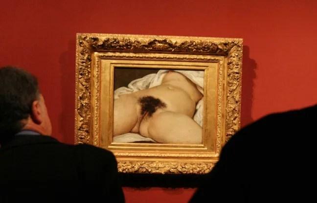 """""""L'Origine du monde"""", de Gustave Courbet."""