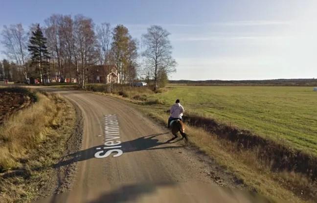 Une capture Google Street View prise en Finlande.