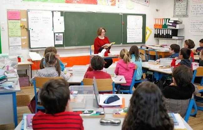 NANTES, le 13/05/2013 Une classe dans une ecole primaire