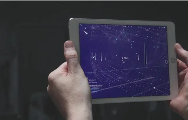 Un développeur néerlandais a mis au point une application qui rend visibles les ondes électromagnétiques