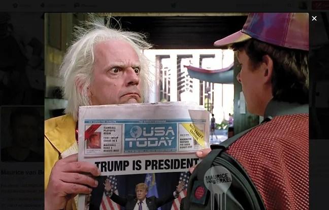 Marty et Doc n'en reviennent pas