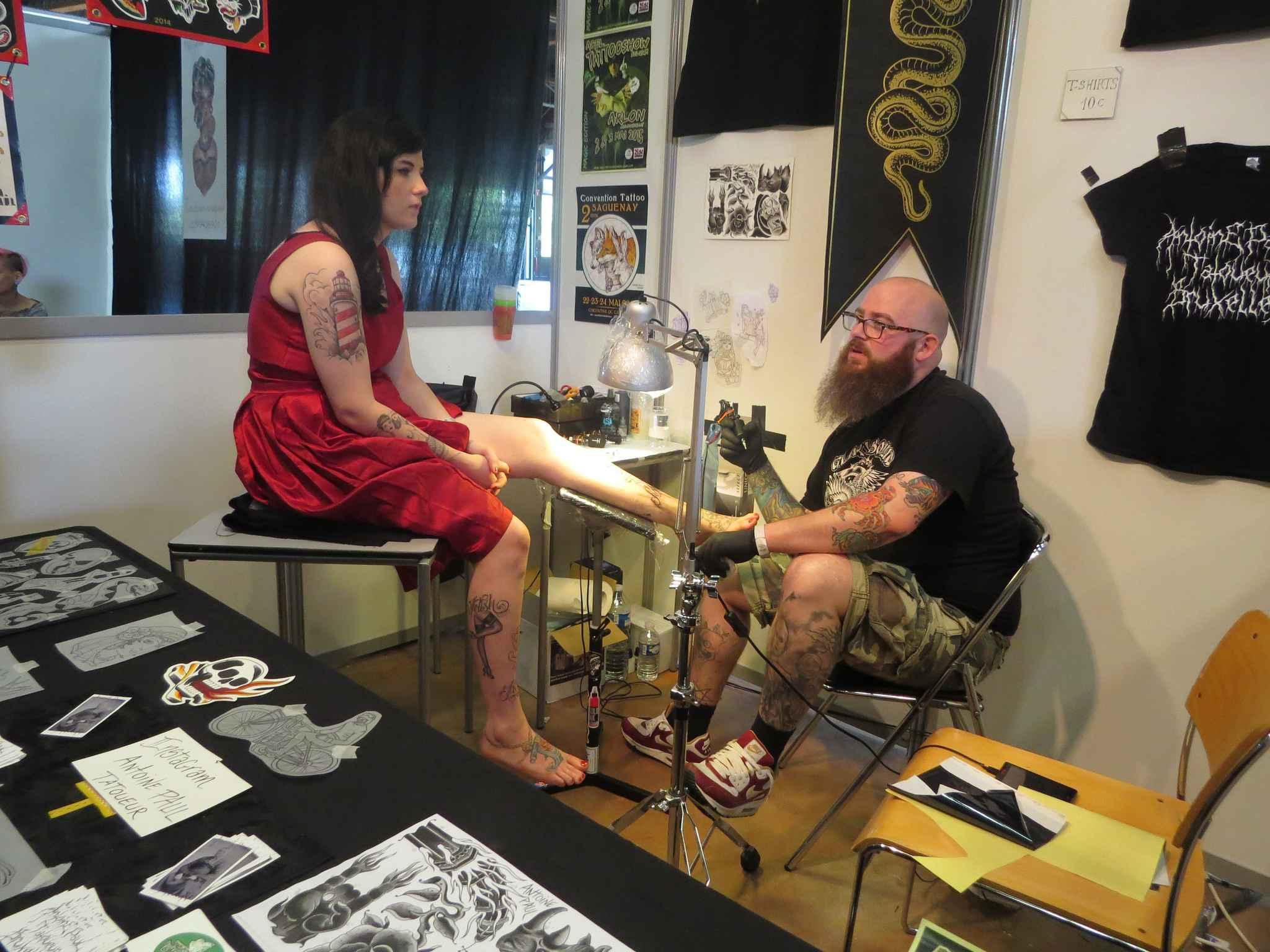 tatouages301 salon du tatouage nantes 2014. Black Bedroom Furniture Sets. Home Design Ideas