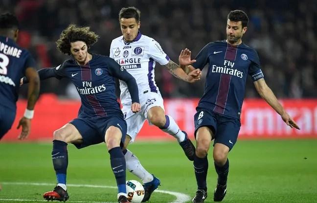 Paris face à Toulouse