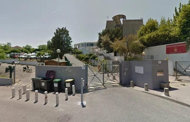 Lycée Alexis de Tocqueville à Grasse.