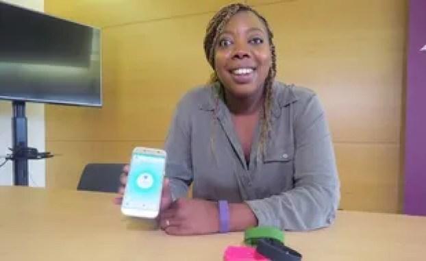 Une femme invente un bracelet d'alerte dans un cas de violence féminine
