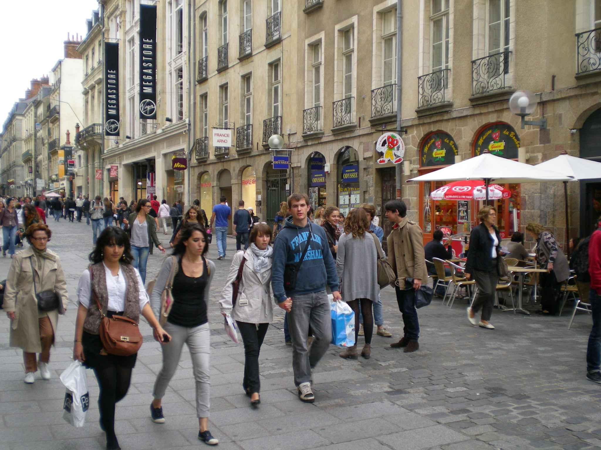 Rennes Les magasins pourront ouvrir cinq dimanches et jours fris par an