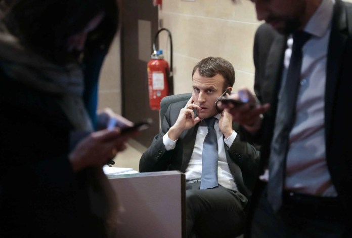 Image result for Macron hacker's