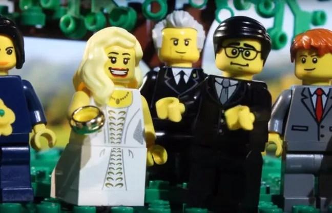 Dans une vidéo de 73 secondes, ce YouTubeur américain raconte sa love story en Lego.