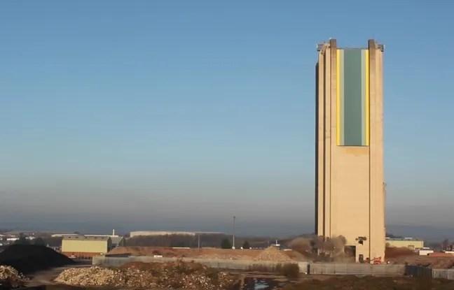 Les explosifs n'ont même pas fait vaciller la Pit Tower.
