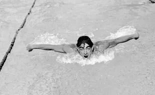 Le nageur Alfred Nakache en 1946.