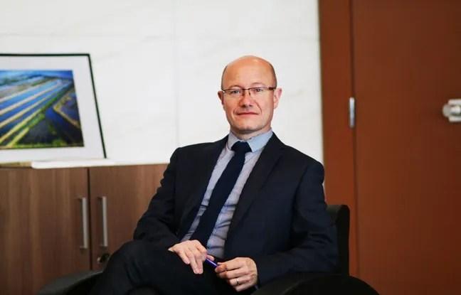 Jean-Luc Gleyze, président du conseil départemental de la Gironde (PS)