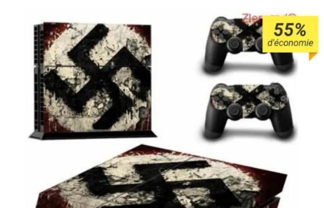 Cdiscount a retiré de la vente un autocollant nazi